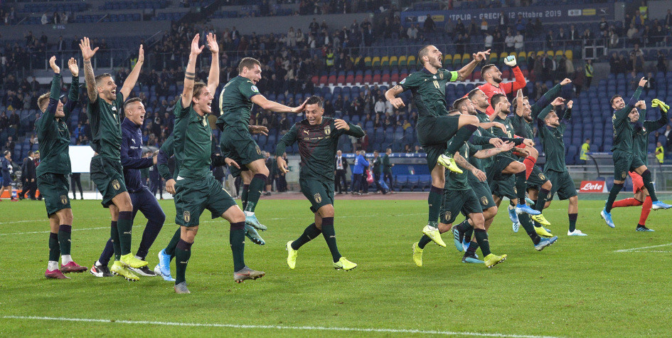 Сборная Италии обыграла Грецию и гарантировала участие в Евро-2020