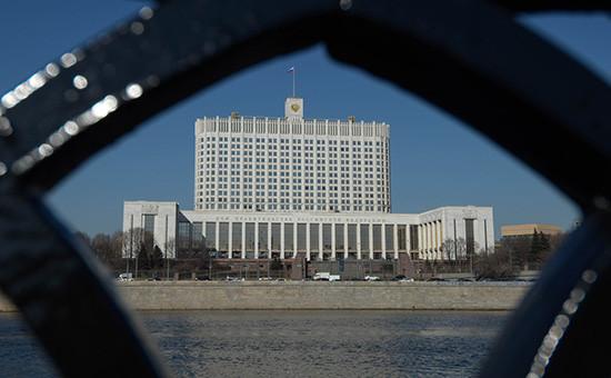 Здание Дома правительства России