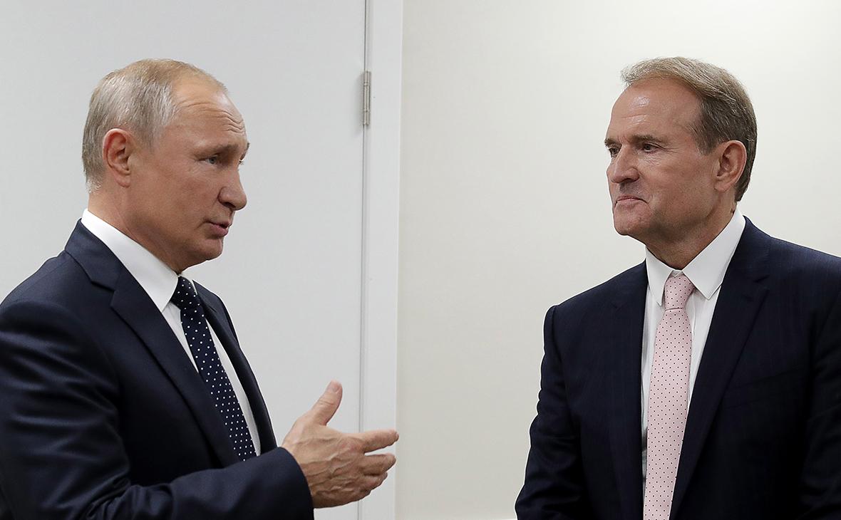 На Украине проверят показавшие встречу Путина и Медведчука телеканалы
