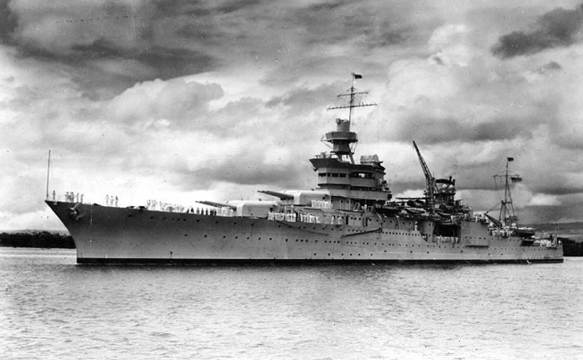 Американский крейсер USS Indianapolis