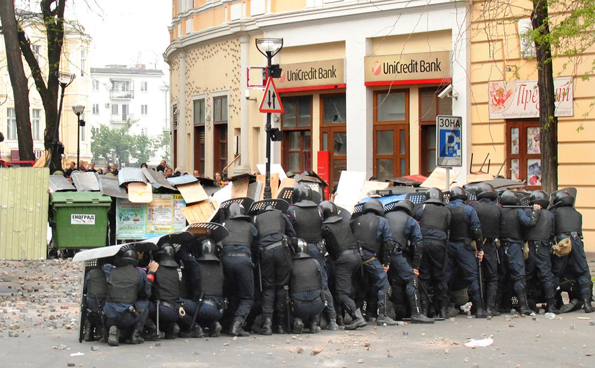 Массовые беспорядки на Греческой площади в Одессе. 2 мая 2014 года