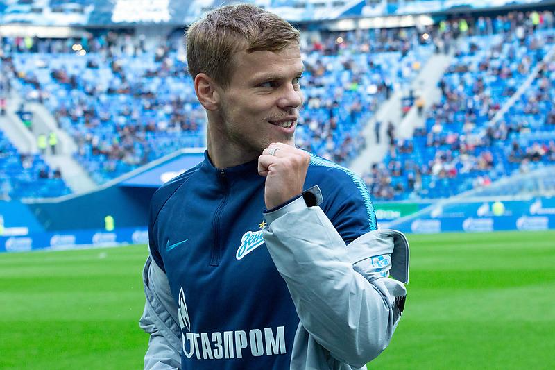 Футболист «Зенита» Александр Кокорин