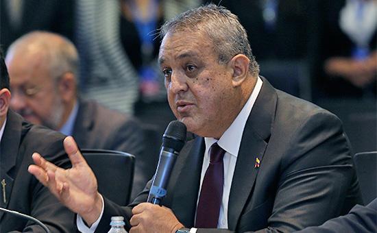 Министр нефтяной и горнорудной промышленности Венесуэлы Эулохио дель Пино