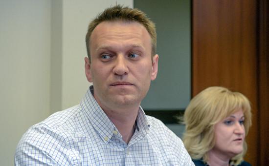 Основатель Фонда борьбы с коррупцией Алексей Навальный, 13 мая 2015 года
