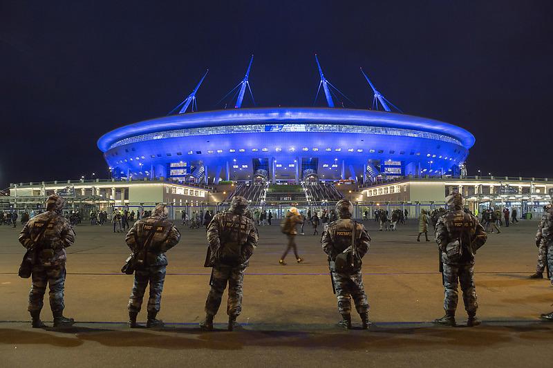 Новый стадион на Крестовском острове