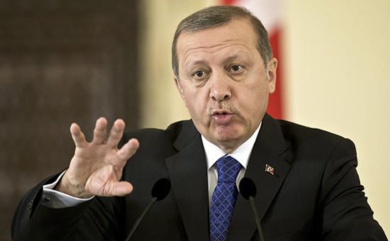 Глава турецкого государства Реджеп Тайип Эрдоган