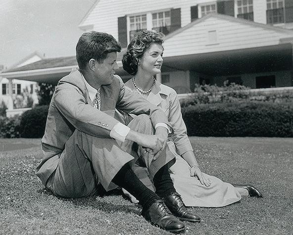 Джон и Жаклин Кеннеди