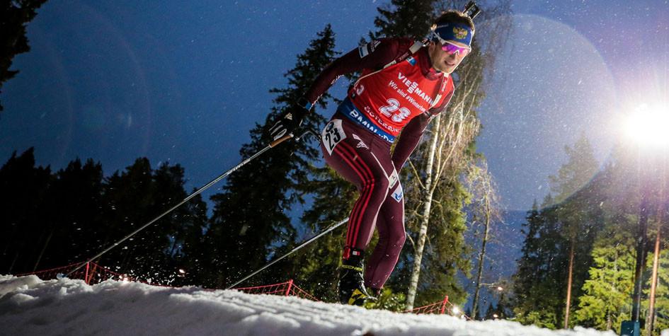 Российский биатлонист отыграл 24 позиции в гонке преследования