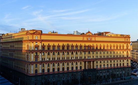Здание ФСБ на Лубянской площади