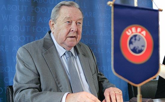 Бывший президент УЕФА Леннарт Юханссон