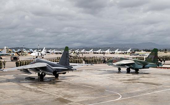 Самолеты ВКС России в Сирии