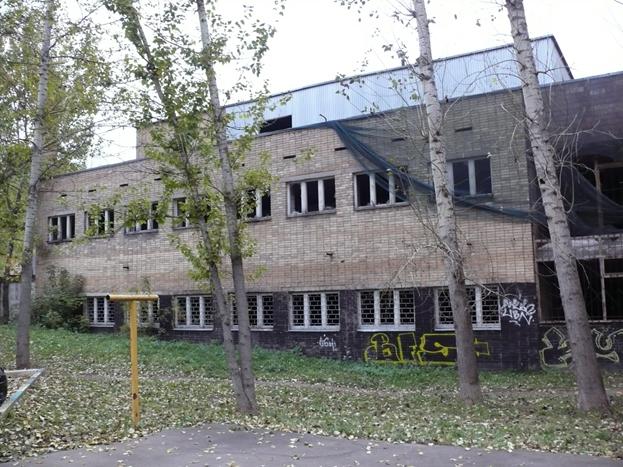 Здание бывшего комплекса «Бирюлевские бани»