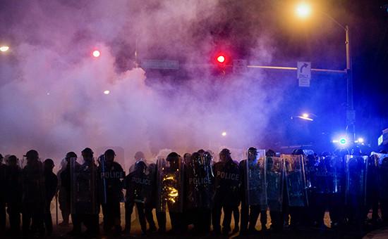 Массовые беспорядки в Балтиморе
