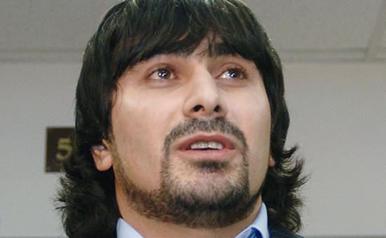 Подозреваемый вубийстве Хлебникова Казбек Дукузов. Архивное фото