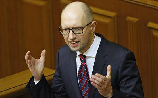 Экс-премьер Украины Арсений Яценюк