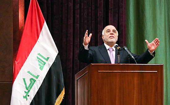 Премьер-министр Ирака Хайдер аль-Абади