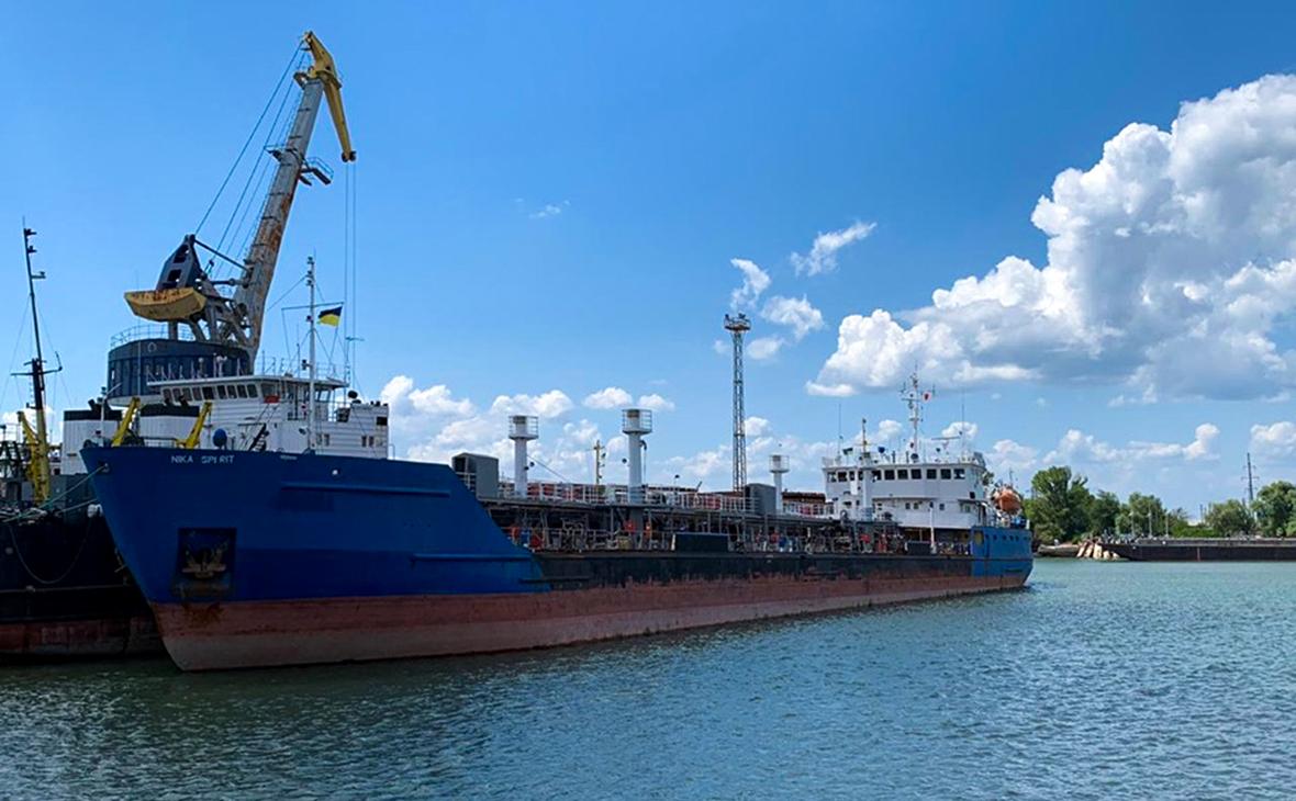 Задержанный танкер Nika Spirit
