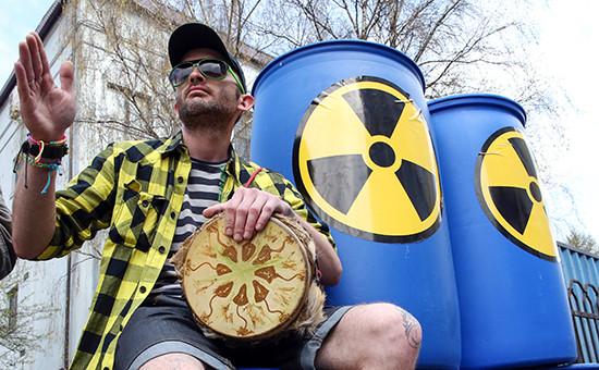 Акция протеста группы «Экозащита». Архивное фото
