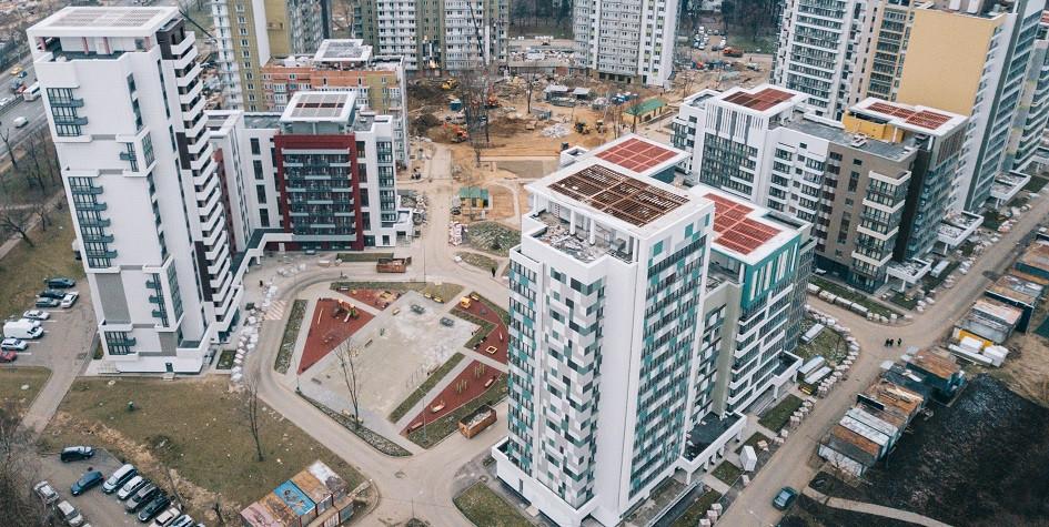 Фото:Дома для переселения по программе реновации на Дмитровском шоссе. Anton Belitsky/Global Look Press