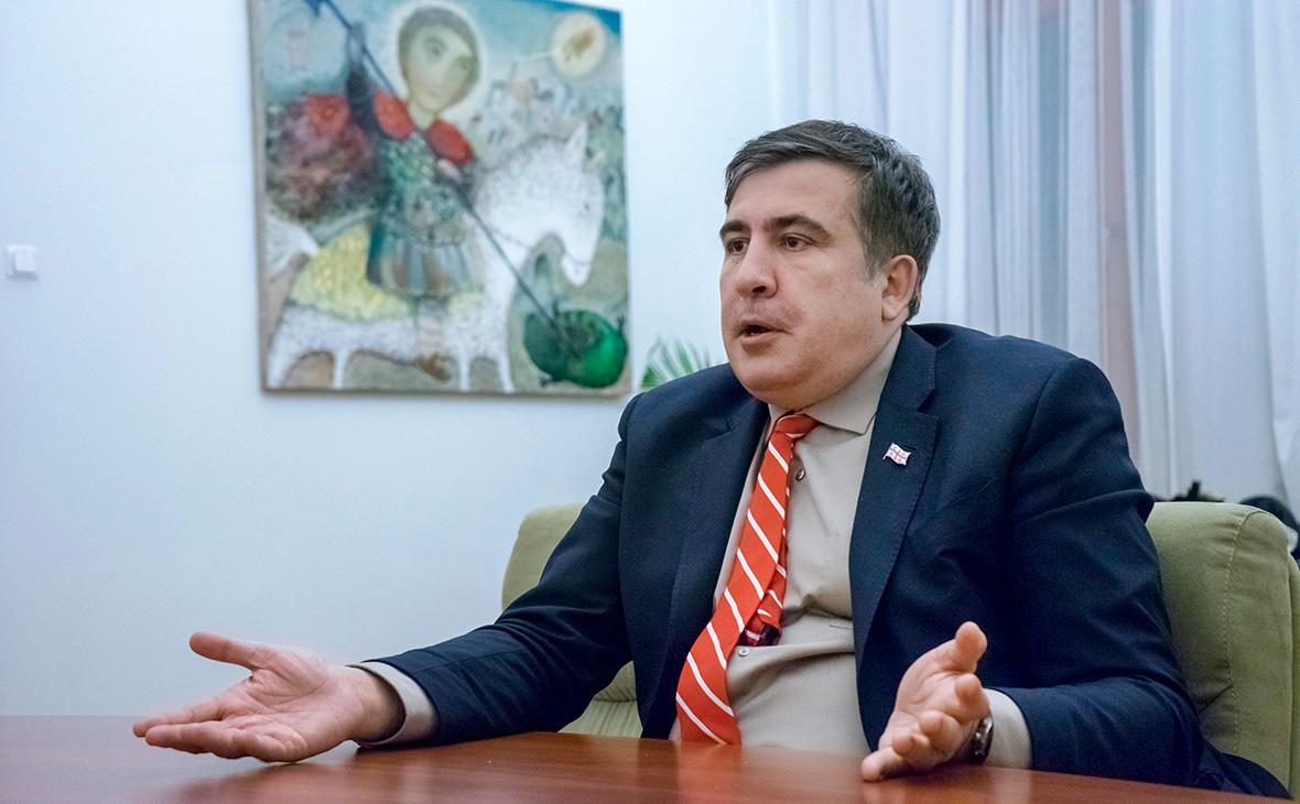 Саакашвили заявил о требовании Путина запретить его возвращение в Киев