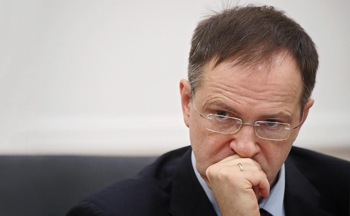 Владимир Мединский покинет пост министра культуры - РБК