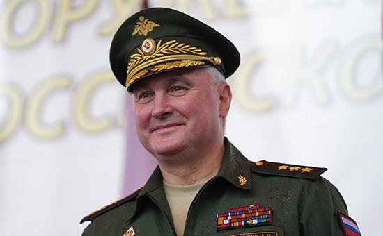 Командующий войсками Западного военного округа (ЗВО) генерал-полковник Андрей Картаполов