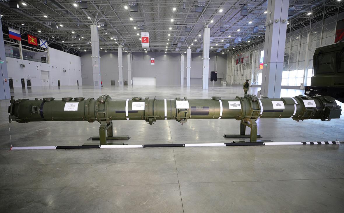 Транспортно-пусковой контейнер с крылатой ракетой 9М729