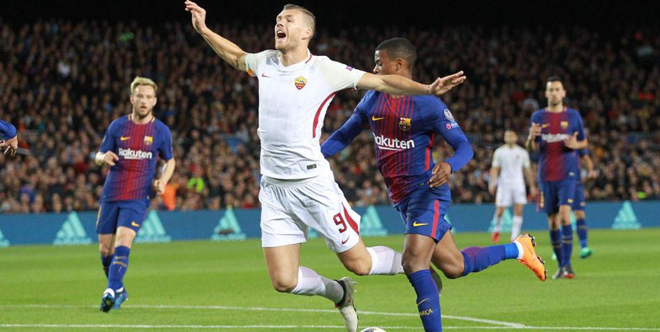 Джеко: «Судье не хватило мужества поставить пенальти в ворота «Барселоны»