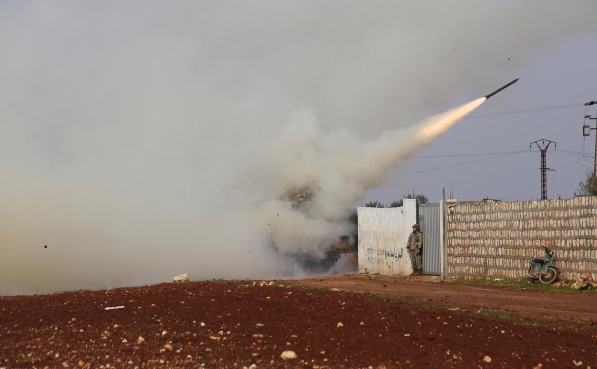 Турция нанесла ответные удары после атаки сирийской армии в Идлибе