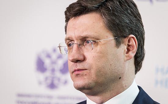 Глава Минэнерго России Александр Новак