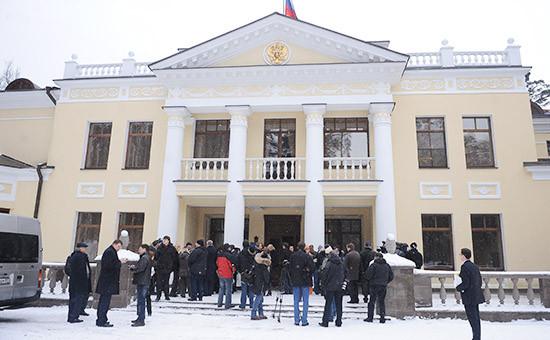 Резиденция президента в Ново-Огарево, 2009 год