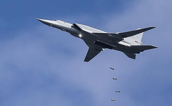 Дальний бомбардировщик Ту-22М3, август 2015 года