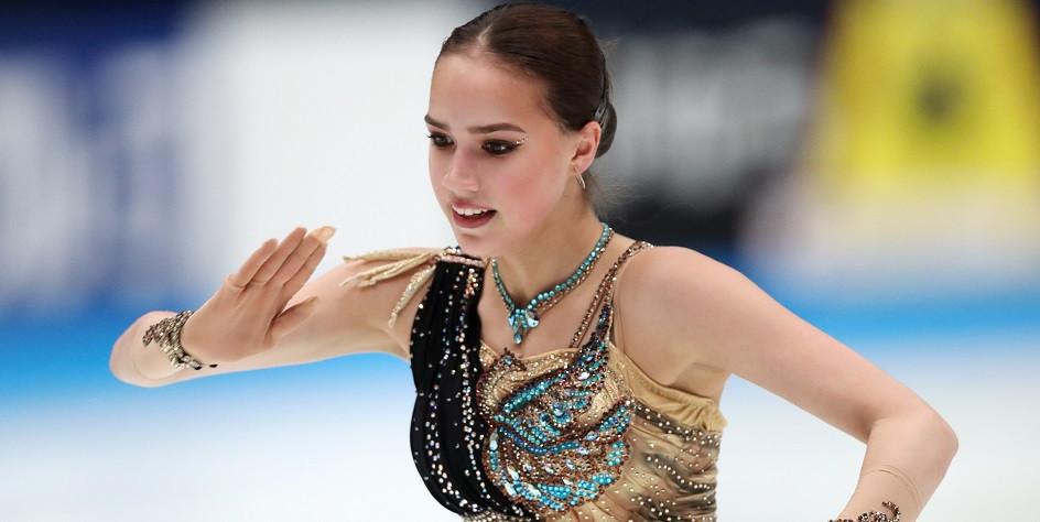 Олимпийская чемпионка по фигурному катанию Алина Загитова