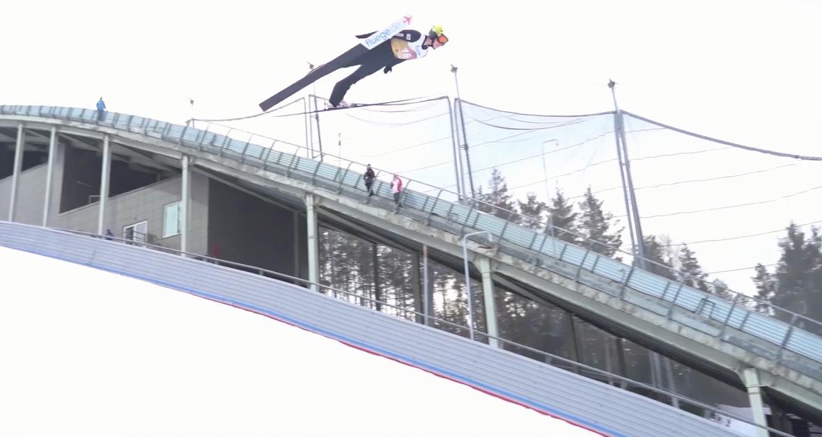 Фото: скриншот из тизера Федерации по прыжкам на лыжах с трамплина «Прикамье»
