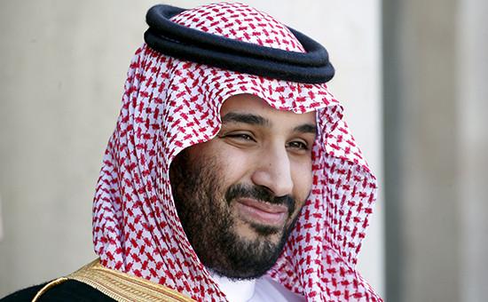 Заместитель наследного саудовского принца Мохаммед бен Салман