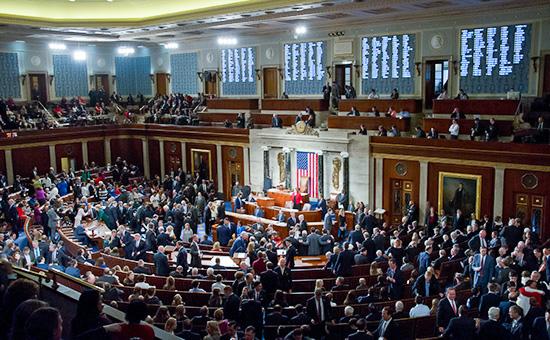 Заседание Конгресса США. Январь 2017 года