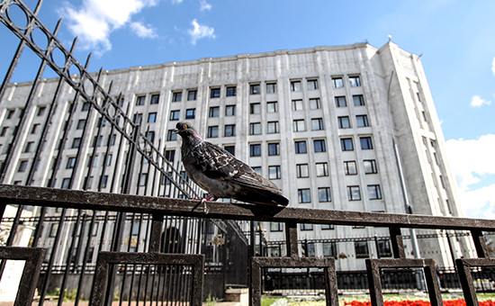 Здание Министерства обороны РФ на улице Знаменка