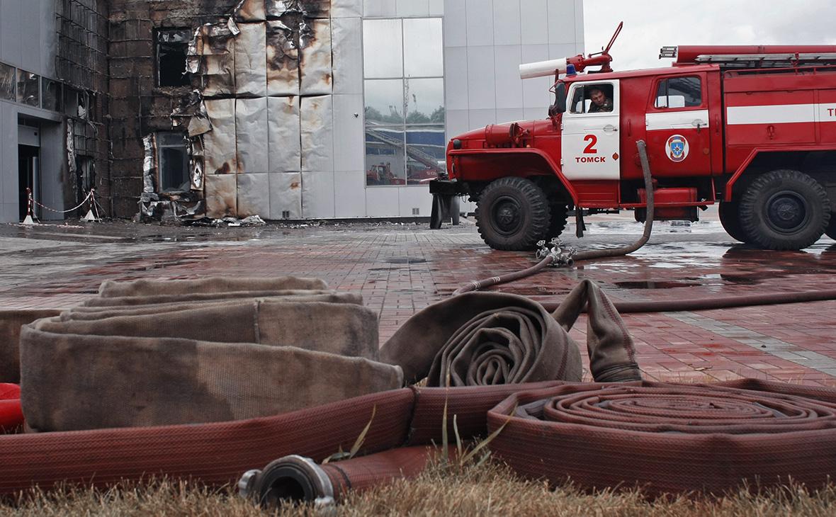 В исправительной колонии в Томске произошел пожар