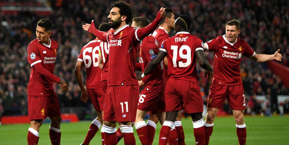 «Ливерпуль» разгромил «Манчестер Сити» в Лиге чемпионов