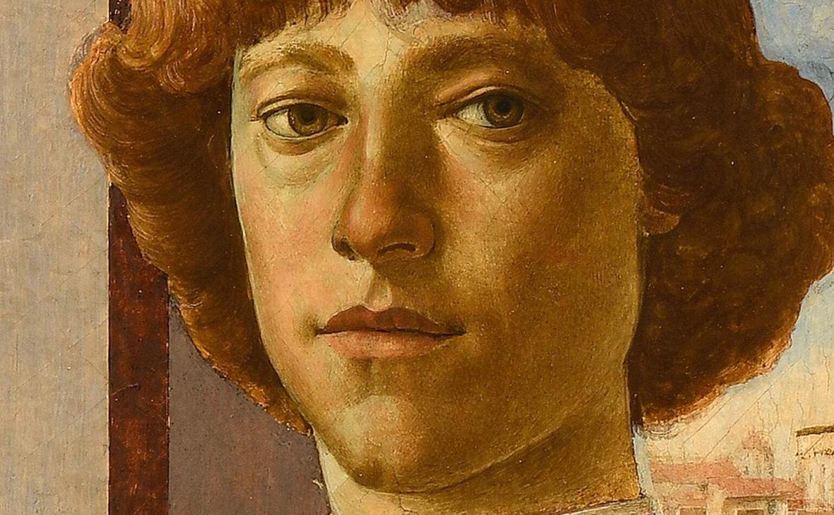 Фрагмент картины «Портрет молодого человека»