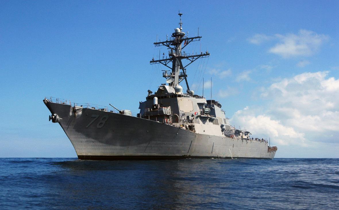 Американский ракетный эсминец USS Porter