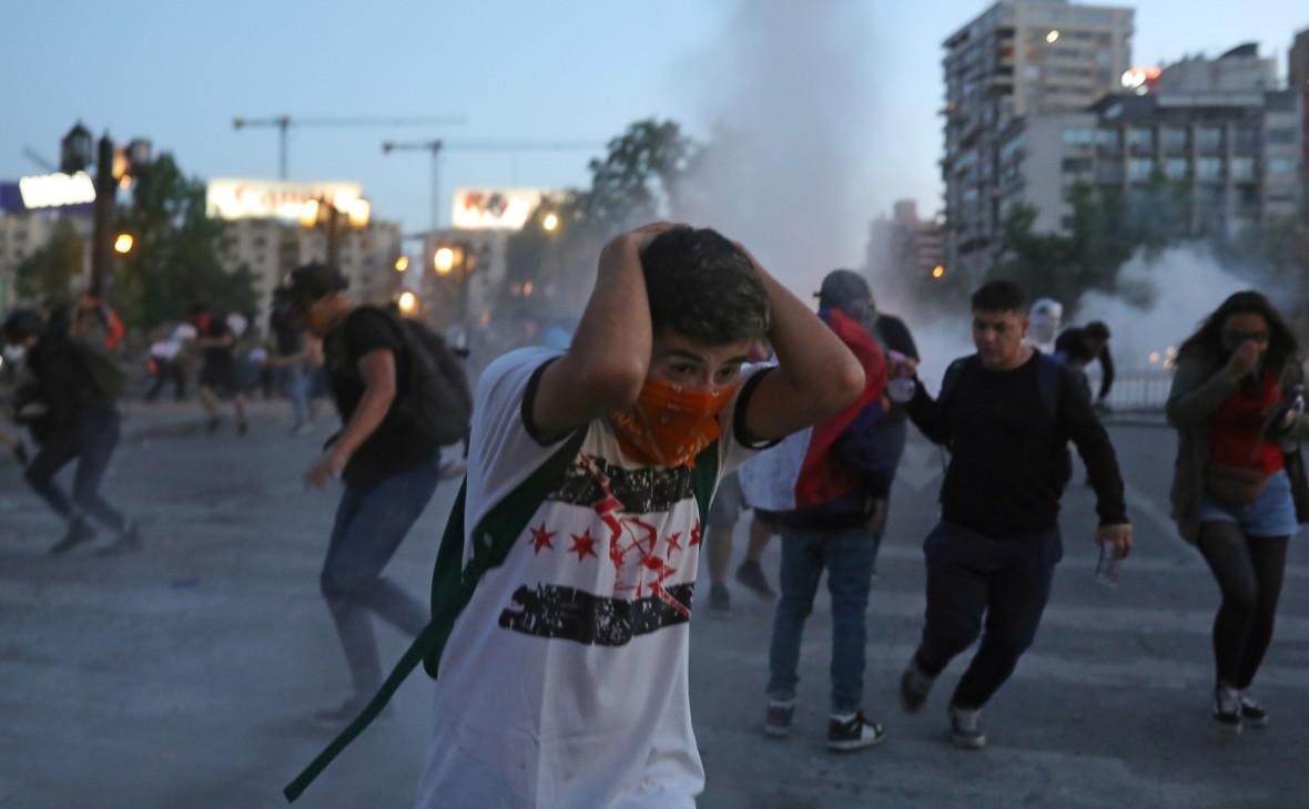 Госдеп обвинил Россию в попытках разжечь беспорядки в Чили