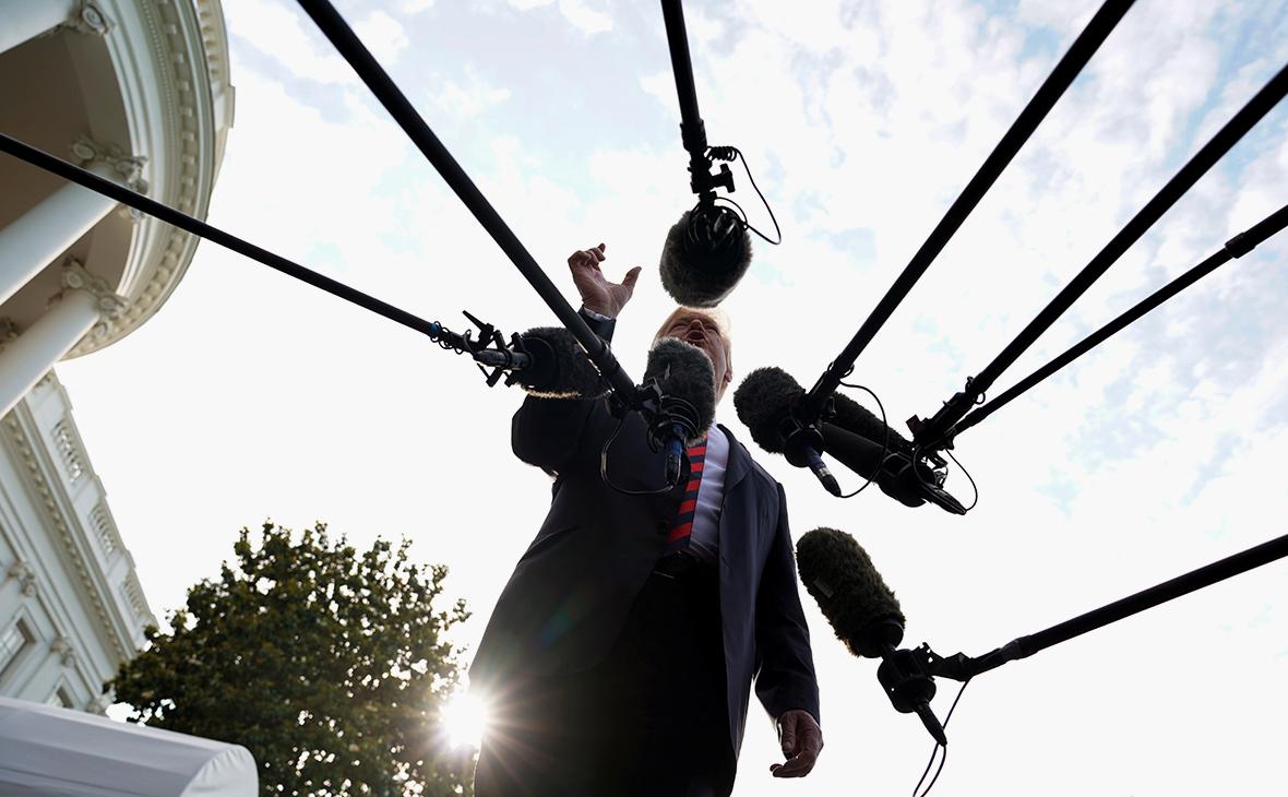 Трамп приготовился единолично вводить санкции за вмешательство в выборы
