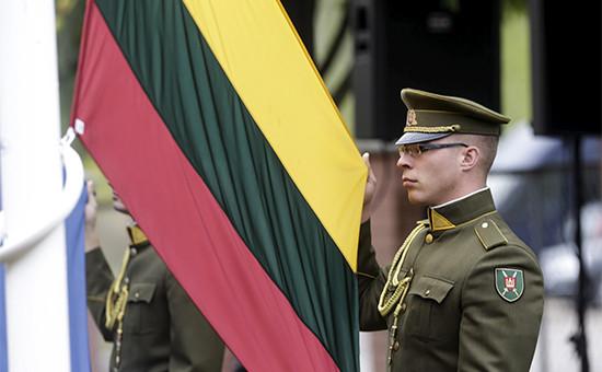 Солдат литовской армии