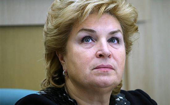 Заместитель министра финансов РФ Татьяна Нестеренко