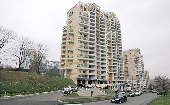 Жилой дом длядепутатов наулице Улофа Пальме вМоскве