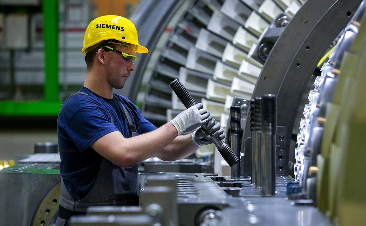Производство газовых турбин Siemens