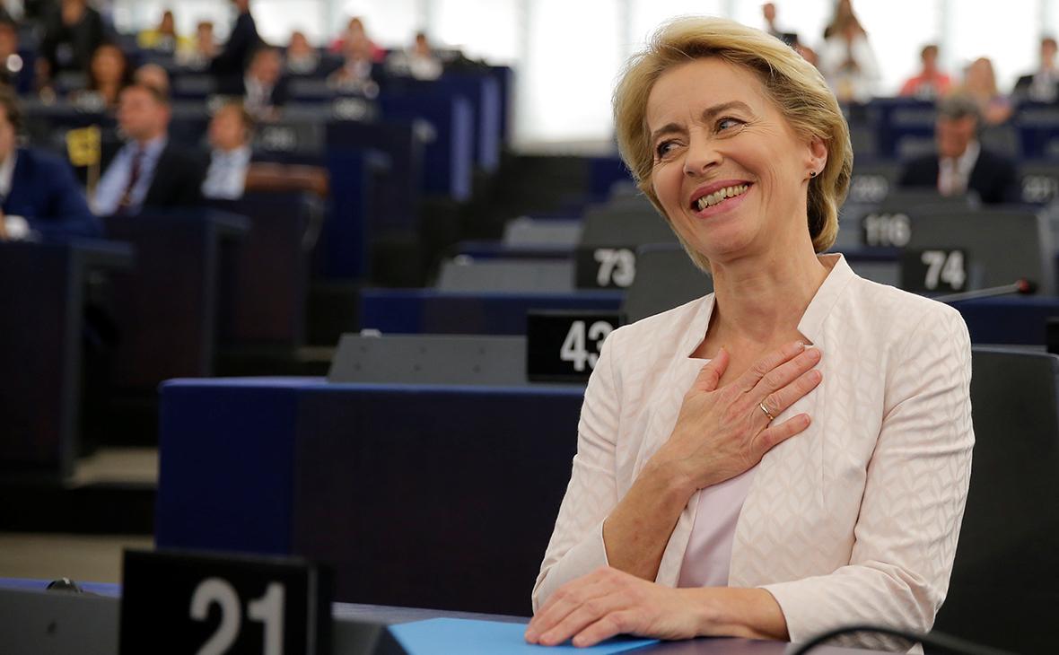 Европарламент утвердил первую женщину на пост главы Еврокомиссии