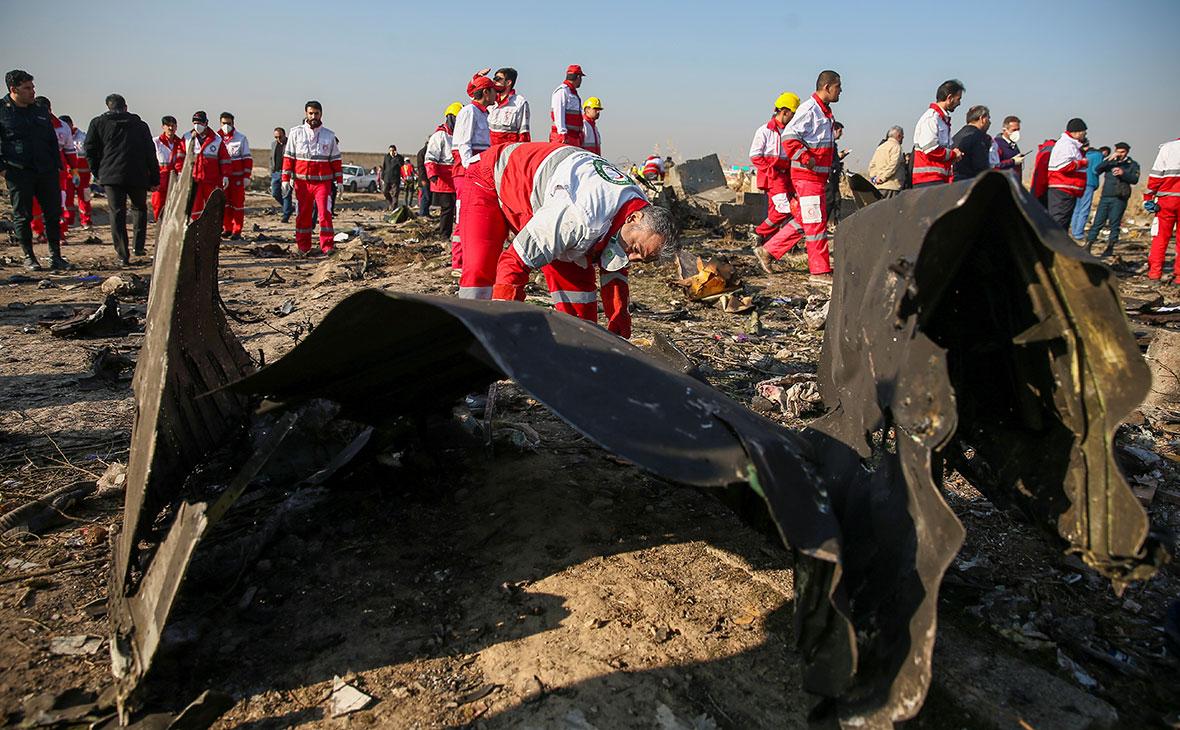 Зеленский заявил о полученной от США важной информации о крушении в Иране