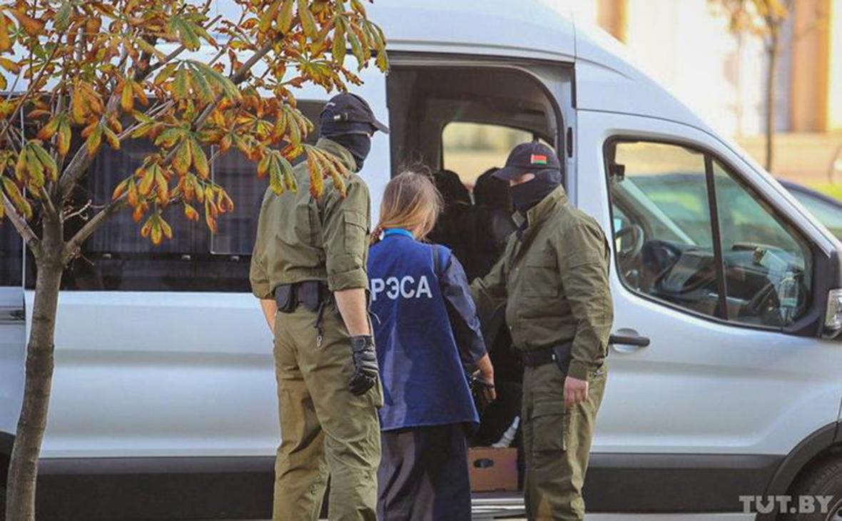 Задержание Марии Войтович